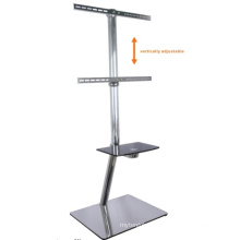 "32""-60"" Built in Cable Design Stand TV Mount with DVD Rack (PSF420-1300)"