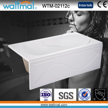 Cupc Approved Acrylic Skirted Built in Bathtub with Handles