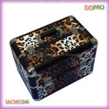 Leopard Pattern Hard Beauty Case Professional Train Case (SACMC046)