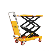 Xilin 350kg Portable Manual Hydraulic Double Scissor Lift Table