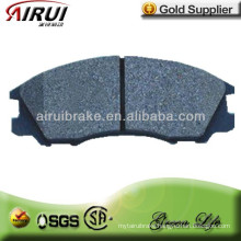 No noise and low dust brake pad for D510