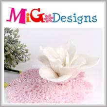 Candelabros de cerámica populares de la flor de loto