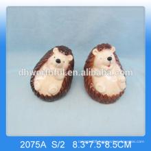 Most lovely design ceramic hedgehog ornament,ceramic hedgehog figurine