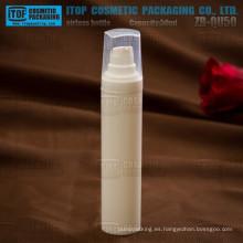 ZB-QU50 especial 50ml recomendada forma agradable delgada y redonda eco amigable vacío contenedor de cosméticos