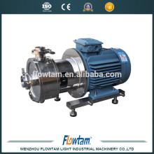 Pompe mélangeuse à haute cisaille en acier inoxydable, rotor et homogénéisateur en ligne stator