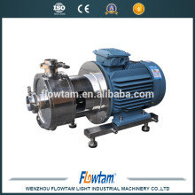 ss304 stainless steel inline high shear mixer wenzhou emulsifying pump