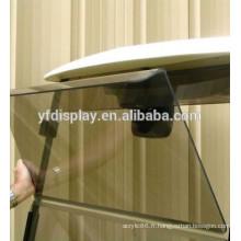 Pare-brise latéral teinté en acrylique pour voiture de golf