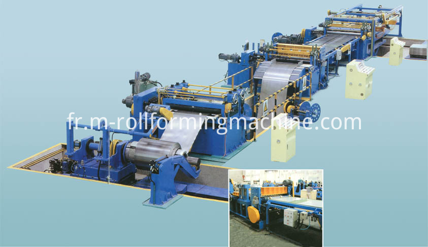 3.0x1500mm custom coil slitting line