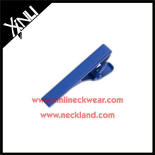 High Quality Plating Blue Color Men's Colorful Wholesale Tie Bar