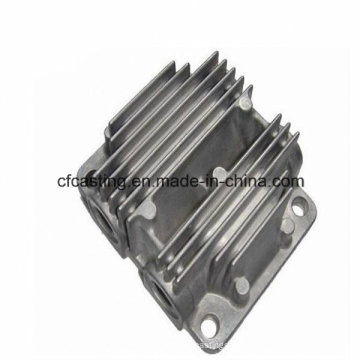 Fundición a presión de aluminio del intercambiador de calor de la fundición