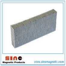 Сильный постоянный прямоугольный неодимовый магнит