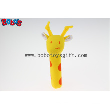 Soft Cute Baby Giraffe Animal Stick Toys for Infant Bosw1042