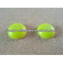 Botão magnético plástico, ímã revestido plástico, botão magnético redondo, acessórios do whiteboard, 30mm