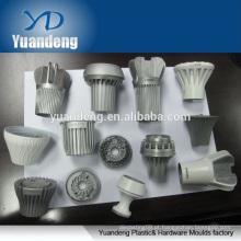Perfil de extrusão de alumínio feito sob encomenda para fundição de peças de iluminação