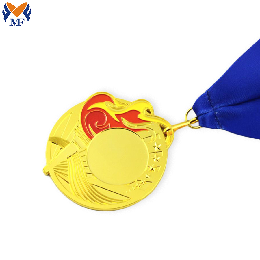Custom Yellow Medal