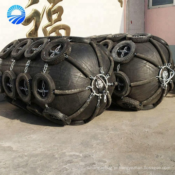 Tipo inflável de Yokohama do embarcadouro do navio pára-choque de borracha do cais