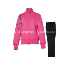 cotton material fashion new style sports jackets and pants