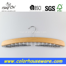 New style Tie wooden hanger rack