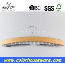 Rack de cabide de madeira novo estilo gravata
