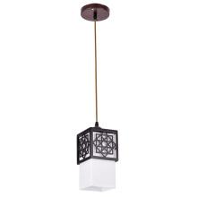 Luz pendente de suspensão vintage para sala de estar