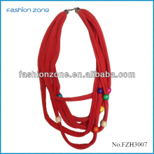 2014 Hot Sell Infinity Fashion Scarf With Jewelry