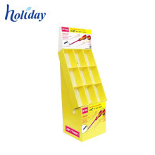 Retail Cardboard Cd Dvd Point Of Sale Display Stand Rack Shelf