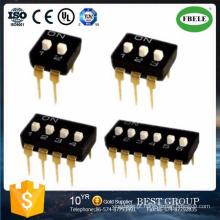 Interruptor do MERGULHO do ajuste do interruptor de MERGULHO do Pin SMD do interruptor 6 do MERGULHO de SMD