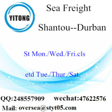 Shantou Port LCL Consolidation To Durban