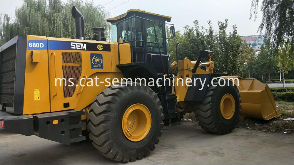Sem680d 8 Ton Wheel Loader 1