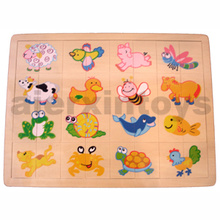 Wooden Match up Puzzle (81002)