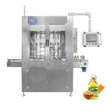 8 heads 500ml-5L PET bottle edible sunflower oil bottling automatic viscous liquid packing servo type filling machine