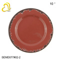 El plato de plástico redondo platea las placas del cargador de las placas de la melamina al por mayor