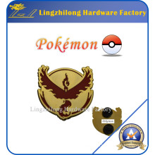 2016 promocional Pokemon Go Kanto Metal Badge