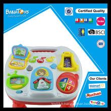 Machine d'apprentissage drôle jouet de musique enfants apprentissage de la table de jouet