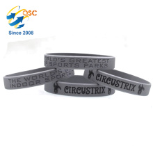cheap Printed silicone bracelet with pattern