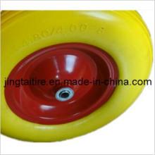 Резиновых Пу пена колеса (4.80/4.00-8) твердых шин