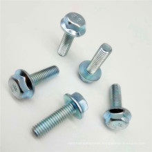Hex Flange Bolts With Tooth Screw Cushioned