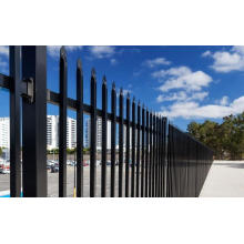 Top wrought iron garrison fence