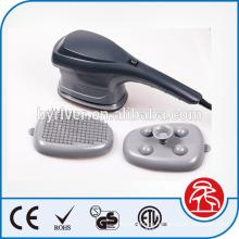 Infrarrojos vibración cuerpo masaje martillo masajeador manual con 3 cabezas intercambiables