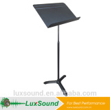 Quick released all metal music sheet stand Adjusting in spring NON KNOB SYSTEM