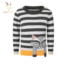 Девочек Вязание для детей свитер для детей