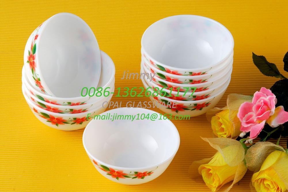 White Jade Opalescent Glass