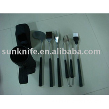 5-pc BBQ tool with golf style