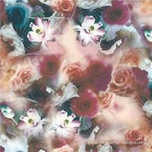 Digital Print Twill Silk Fabric in Beautiful Pattern (TLD-0046)