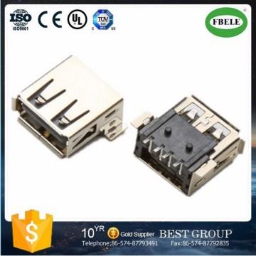 8 Pin Mini USB Connector Mini USB Dual USB Connector