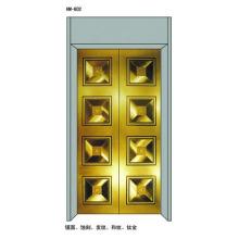 Paneles decorativos para puertas de aterrizaje para ascensores