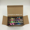 PVC Fluorescent Flagging tape blister packs