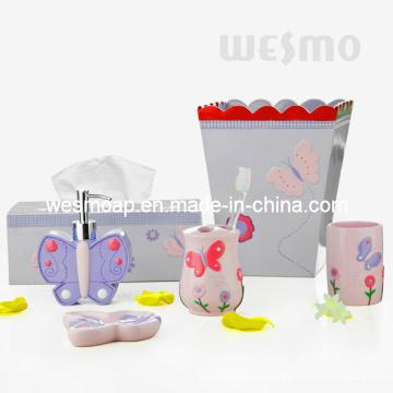Accesorios de baño de Polyresin para niños (WBP0808A)