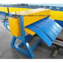 Acier galvanisé en acier galvanisé Machine à rainurer en métal