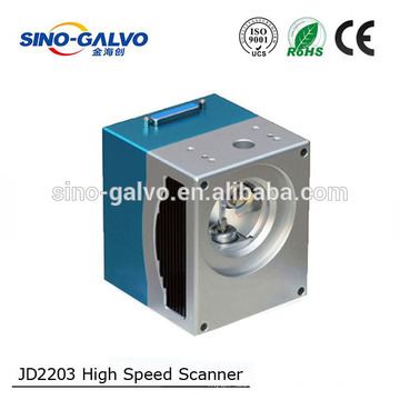 China fabricante de peças de máquinas a laser de fibra 20 W 1064nm cabeça do laser